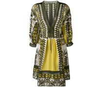 Tunika-Kleid mit geometrischem Muster