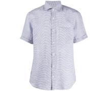 striped short-sleeve shirt