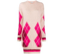 Kleid mit Argyle-Muster