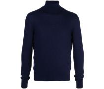 cashmere roll-neck sweatshirt