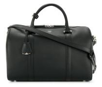 Große Handtasche mit Logo-Stempel
