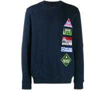 Sweatshirt mit Warn-Patches