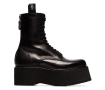 'Double Stack' Stiefel