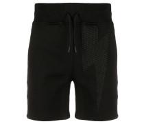 Shorts mit Blitz-Print