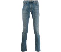 'Steel Indigo Cross' Jeans