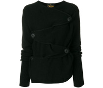 buttoned front jumper
