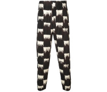Wild Check trousers