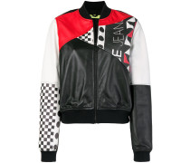 colour-block bomber jacket