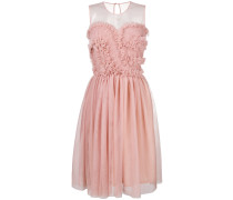 P.A.R.O.S.H. frill tulle midi dress