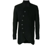 asymmetric double-breasted coat