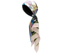 Turban mit Blumen-Print