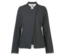 raw seam detail jacket