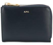 A.P.C. Portemonnaie mit Reißverschluss