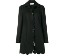 scalloped coat