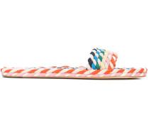 Elle Twisted weaved slides