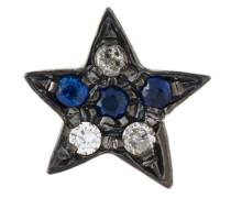 18kt 'Superstellar' Schwarzgoldohrstecker