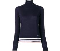 Pullover mit Streifensaum