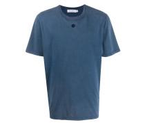 T-Shirt mit gestickter Öse
