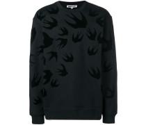 "Sweatshirt mit ""Swallow""-Print"