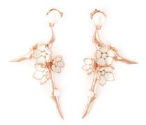 'Cherry Blossom' Ohrringe aus rotvergoldetem Sterlingsilber