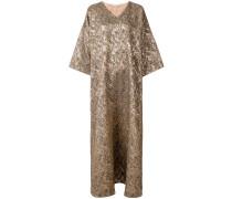 Oversized-Kleid mit V-Ausschnitt
