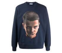 Sweatshirt mit Gesichts-Print