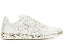 'Replica' Sneakers mit Glitzereffekt