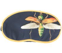 Schlafmaske mit Libellen-Print