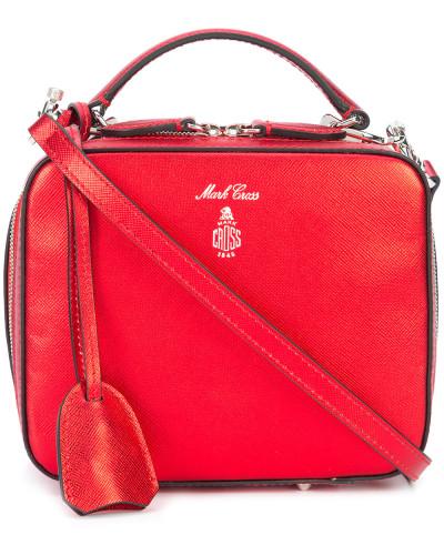 Mark Cross Damen Umhängetasche mit Logo-Stempel Kaufen Billig Kaufen Limitierter Auflage Zum Verkauf Sast Verkauf Online KK1lf1k