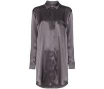 Hemdkleid mit lockerem Schnitt