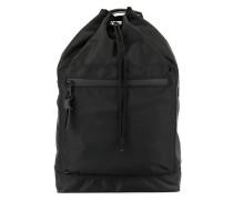 bucket-style backpack