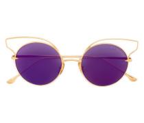 'Believer' Sonnenbrille aus 18kt vergoldetem Platin