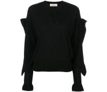 Pullover mit Volant-Ärmeln