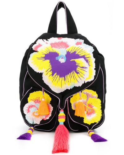 Yuliya Magdych Damen Pansies rucksack Erhalten Authentisch Billig Zum Verkauf H1sBaA4VF