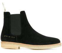 Chelsea-Boots mit kontrastierender Sohle