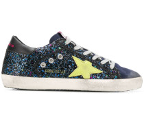 glitter patchwork sneakers
