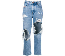 'Aryel' Jeans im Destroyed-Look