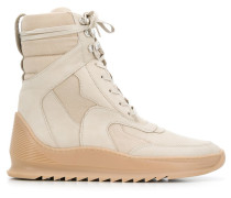 High-Top-Sneakers aus Wildleder