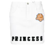 Princess patch letterman skirt