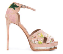 'Hobnail' Sandalen mit Plateausohle