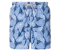 paisley print swim trunks