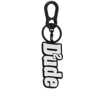 Schlüsselanhänger mit Slogan