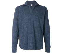 spread collar jumper