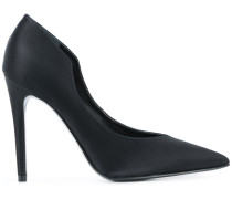 Stiletto-Pumps aus Satin