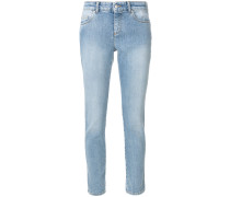 Skinny-Jeans mit Gürtelschlaufen