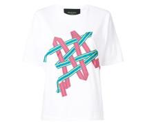 T-Shirt mit Applikationen