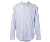 Gemustertes Button-down-Hemd