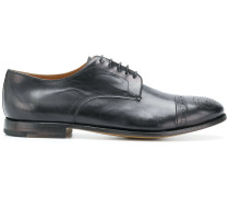 perforated detail Derby shoes