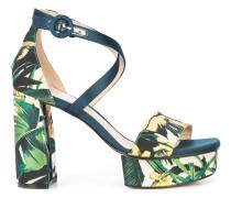 Clara floral printed sandals