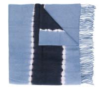 Schal mit Batikmuster